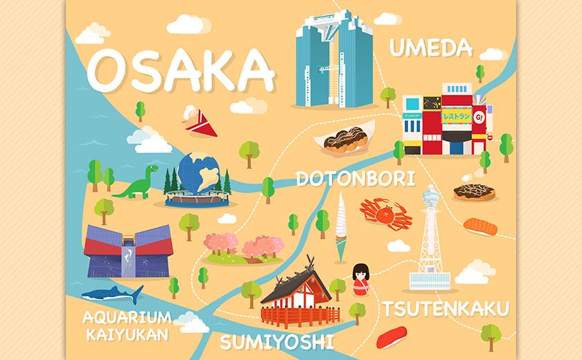住んでよし!食べてよし!遊んでよし!大阪の魅力を伝えます!