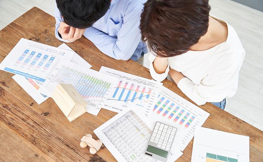 不動産投資と生命保険の保障額の違いをシミュレーション
